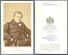 Pierson, Paris, Comte de Cavour Vintage carte de visite, CDV.Camillo Paolo Fil