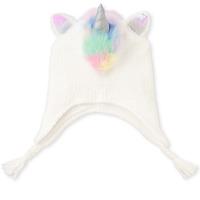 NWT The Children's Place Girls Flip Sequin Unicorn Hat