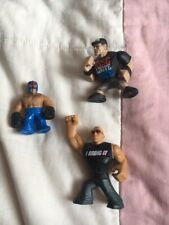 WWE Rumblers Wrestlers THE ROCK John Cena Rey Mysterio