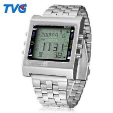 TVG New Rectangle Remote Control Digital Sport watch Alarm remote Men Ladies