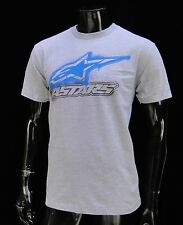 Alpinestars Racing Motocross Flashed Gray Atletic mens T shirt size Large