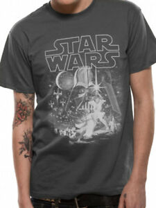 STAR WARS- CLASSIC NEW HOPE Official T Shirt Mens Licensed Merch New