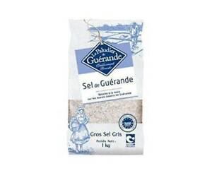 Celtic Sea Salt (Le Paludier) - Course Celtic Sea Salt Bag 1Kg 1kg