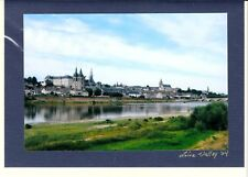 Cherie McFadden : LOIRE VALLEY, FRANCE VIEWED ACROSS THE RIVER Blank Notecard!