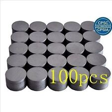 Round Ceramic Industrial Ferrite Magnets - 100 PCS - BRAND NEW - FREE SHIPPING