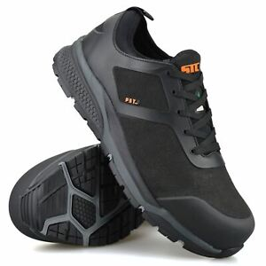 Mens New Lightweight Safety Steel Toe Cap Walking Work Boots Trainers Shoes Size