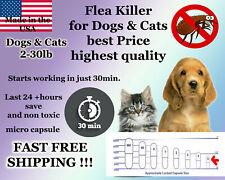 50 Instant Flea Killer Control small Dogs or Cats 2-30lb prevention Micro Pill