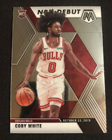 2019-20 Panini Mosaic Coby White Rookie Card RC NBA Debut Chicago Bulls 🔥