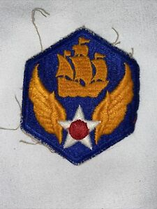 WWII US ARMY AIR CORPS ORIGINAL 6th AIR FORCE UNIT PATCH