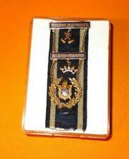 Antikes Freimaurer – Bijou Jacques de Molay 1929 massiv Gold rare masonic jewel