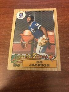 Topps 1987 Bo Jackson Rookie Kansas City Royals #170 Baseball Card