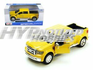 MAISTO 1:31 FORD MIGHTY F-350 SUPER DUTY DIECAST YELLOW 31213*