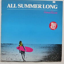 "MAXI 12"" ANNE CLAIRE  All summer long 722812 ITALO DISCO"