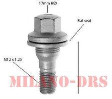10 BULLONE PIATTO M12x1,25 L=45mm Ch17