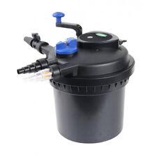 PondH2o Pressurized Pond Filter For 1000 Gallon Koi Fish Water Garden Pond