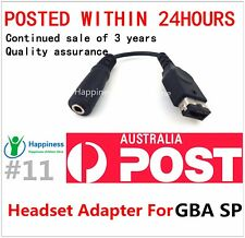 Headset Audio Cable Conversion Headset Adapter For Nintendo Game Boy Advance SP