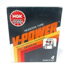 Box of 4 Spark Plugs VIN: T V-Power NGK 5858 XR4
