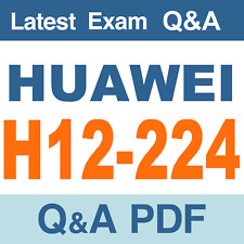 Huawei H12-224 Real Exam Questions & Answers - PDF