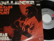 """7"""" - Dillinger / Crabs in my Pamt & Crab Louse - 1977 # 3959"""