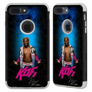 OFFICIAL WWE KOFI KINGSTON GRAY GUARDIAN CASE FOR APPLE iPHONE PHONES