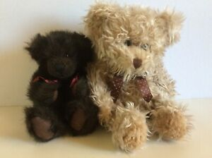 Russ Berrie Bears From the Past Chocolate Chaucer & Radcliffe
