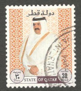AOP Qatar #891 1995 Shaikh Hamad 30d used $21