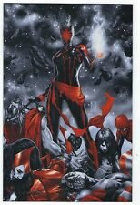 Captain Marvel # 12 Brooks Spot Color 1:100 Virgin Variant NM+ Marvel