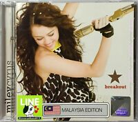 MILEY CYRUS Breakout 2008 MALAYSIA FLAG EDITION CD RARE NEW SEALED FREE SHIPMENT