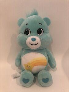 Care Bear Wish Bear 10 in Plush Star Basic Fun New w/out Tags