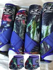 Professional's Choice VenTech Elite Value Pack w/ Bell Boots Purpe Feather M Pro