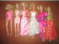 Lotto Barbie Superstar Ballerina Standard Princess anni 70-80 Mattel