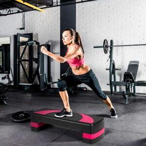 Steppbrett Aerobic Stepper Fitness Step Board Steppbench Höhenverstellbar