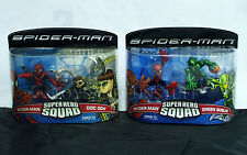 DOC OCK & GREEN GOBLIN +2 SPIDER-MAN Super Hero Squad Figure 2-Packs 2 Sets 2007