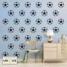Football Wall Stickers Sheets x8 Vinyl Mural Wallpaper Art Kid Bedroom Removable
