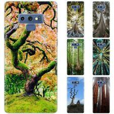 Dessana Arbres TPU Etui Coque Étui pour Téléphone Portable Samsung Galaxy A J