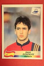 PANINI WC WM FRANCE 98 1998 N. 243 ESPANA RAUL POP UP SAGOMATA MINT!!