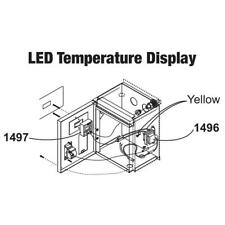 Central Boiler (#1496 & #1497) LED Temperature Display