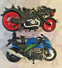 Teenage Mutant Ninja Turtles Motorcycle Viacom Dragon Chopper  Lot Plastic TMNT