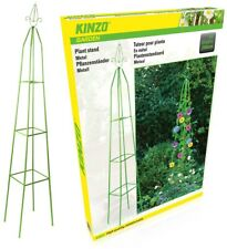 More details for garden obelisk outdoor trellis climbing arch support frame plant roses pyramid