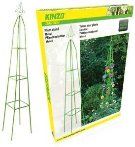 Garden Obelisk Outdoor Trellis Climbing Arch Support Frame Plant Roses Pyramid