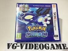 Pokémon Zaffiro Alpha (Nintendo 3DS, 2014)