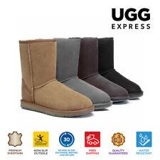 Water Resistant UGG Boots Unisex Short Classic-Preminum Australian Sheepskin