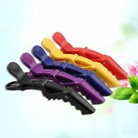 5x Hair Clips Hairdressing Cutting Salon Hair Styling Tools For Women 4 Colors