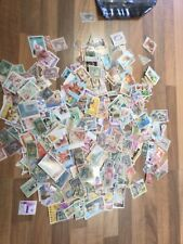 More details for liberia stamps selection on unpicked 600 stamps ¥ly600