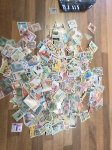 LIBERIA STAMPS SELECTION ON UNPICKED 600 stamps ¥ly600