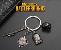 4pcs Playerunknowns Battlegrounds PUBG Keychain Keyring Weapon Model Pendant