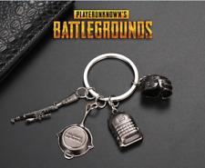 4pcs Playerunknowns Battlegrounds PUBG Keychain Keyring Weapon Model Pendant