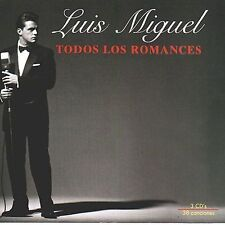 FREE US SHIP. on ANY 2 CDs! USED,MINT CD Luis Miguel: Todos Los Romances
