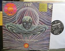 ANGE LP Le Cimetiere Des Arlequins 1973 Philips rare french progrock vinyl gatef