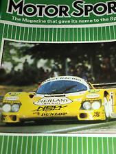 Le Mans 24 h du 1984 NEWMAN JOEST PORSCHE 956 Henri Pescarolo Klaus Ludwig